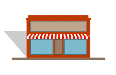 awning, store, front